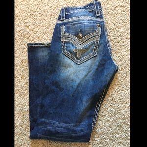 Men's Rock Revival Jean size:33